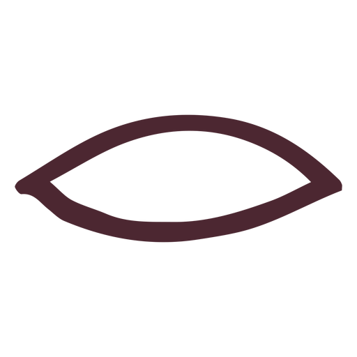 Boca antigua egipcia símbolo jeroglífico Transparent PNG