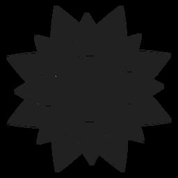 Gran icono de la flor de la dalia