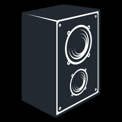 Ícone de alto-falante preto e branco Transparent PNG