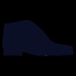 Silhueta de sapatos de brogues