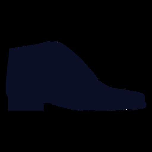 Silhueta de sapatos de brogues Transparent PNG