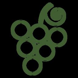 Cacho de uvas ícone