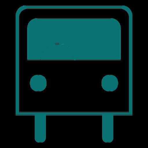 Ícone de estilo de linha de ônibus Transparent PNG