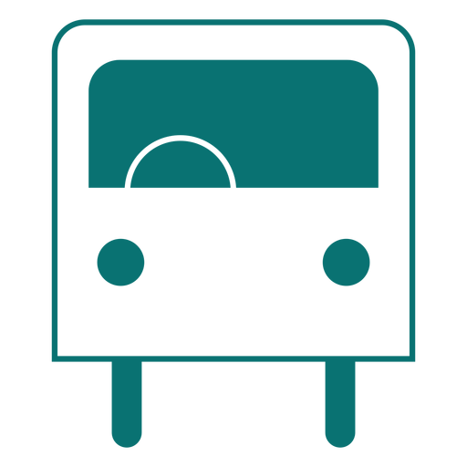 Bus line style icon Transparent PNG