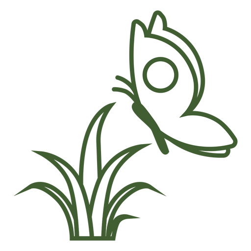 Icono de mariposa en vuelo