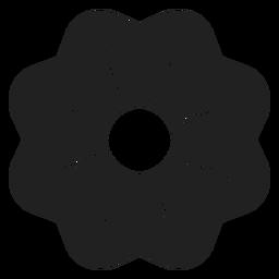Ícone de flor de chita arbusto