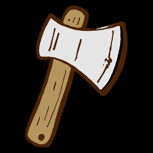 Ícone de machado de acampamento Transparent PNG