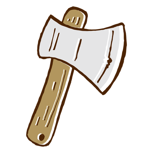 Camping axe icon Transparent PNG