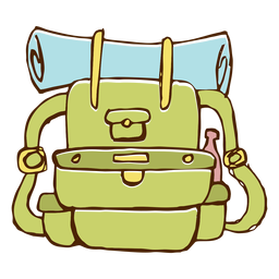 Camping-Rucksack-Symbol