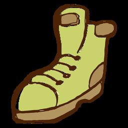 Icono de botas de camping