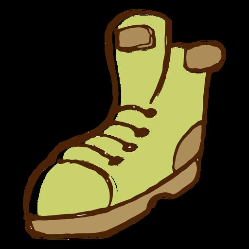 Ícone de botas de campismo Transparent PNG