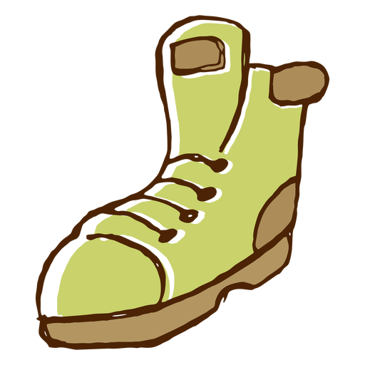 Camping boots icon Transparent PNG
