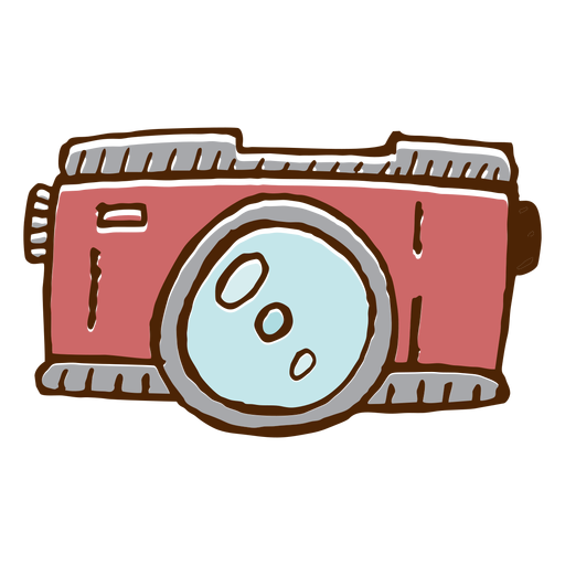 Camping camera icon Transparent PNG