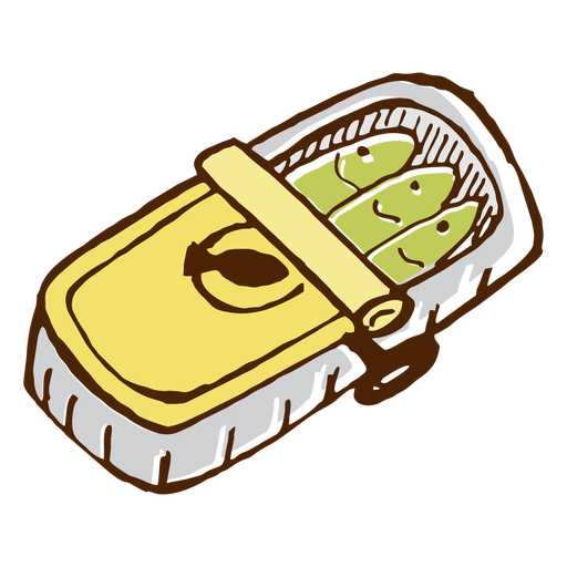 Camping canned sardines icon Transparent PNG