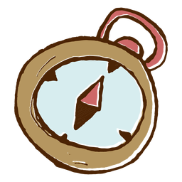 Camping-Kompass-Symbol
