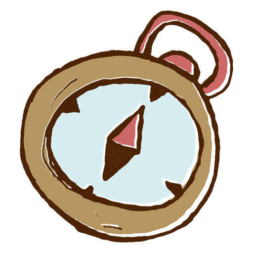 Camping compass icon Transparent PNG