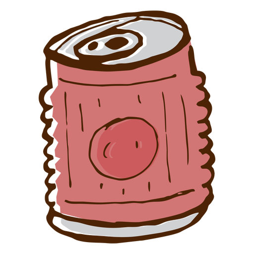 Camping drink can icon Transparent PNG