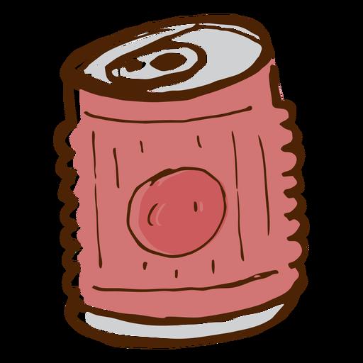 Icono de bebida de camping puede Transparent PNG