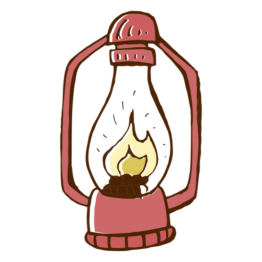 Camping lamp icon Transparent PNG