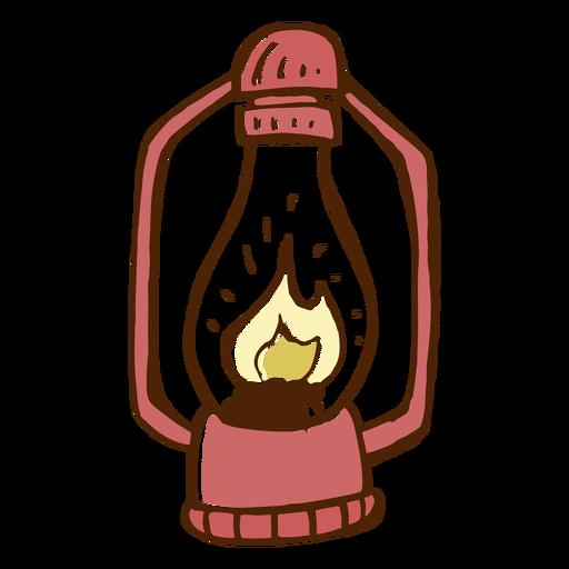 Icono de lámpara de camping Transparent PNG
