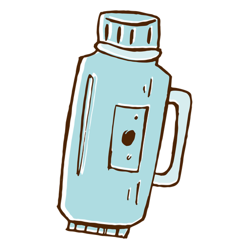 Camping thermos icon Transparent PNG