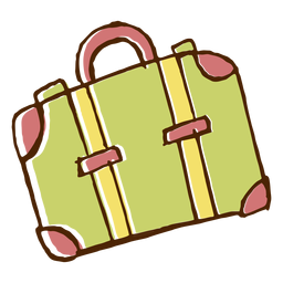 Camping travel bag icon