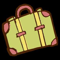 Ícone de saco de viagem de acampamento