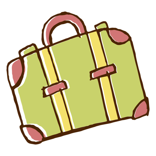Camping travel bag icon Transparent PNG