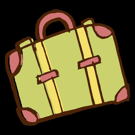 Icono de bolsa de viaje de camping