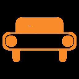 Ícone de estilo de linha de carro
