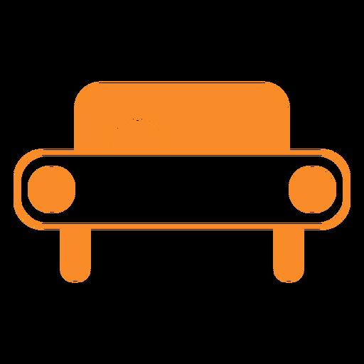Icono de estilo de línea de coche Transparent PNG
