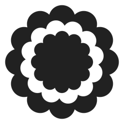 Carnation flower icon