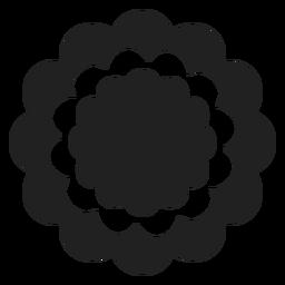 Icono de la flor de clavel