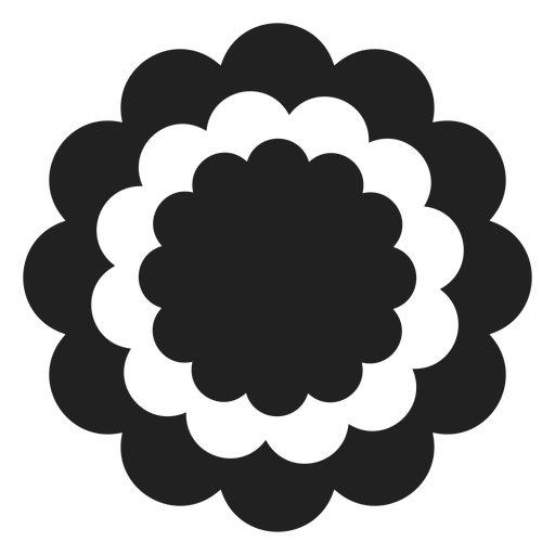 Ícone de flor cravo Transparent PNG