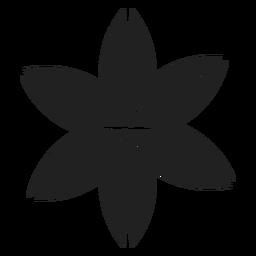 Ícone de flor de cerejeira