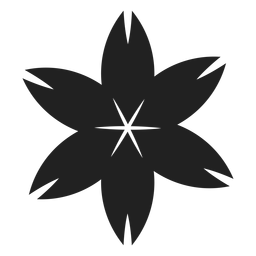 Icono de flor de cerezo