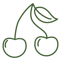 Ícone de frutas cereja