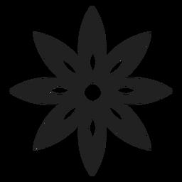 Clematis-Blume-Symbol