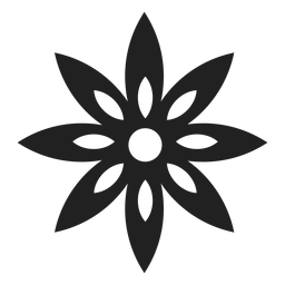 Clematis flower icon