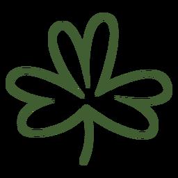 Ícone de folha de trevo