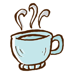 Coffee cup icon camping