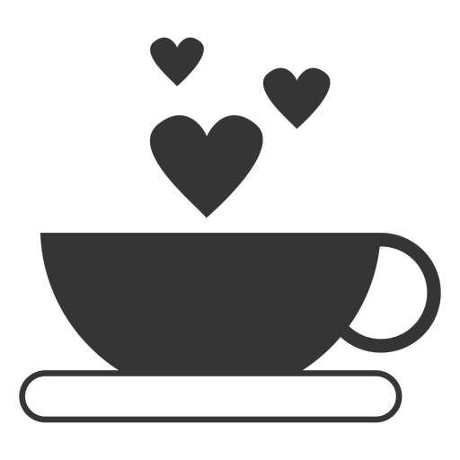 Coffee cup vector icon Transparent PNG