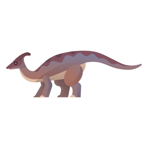 Vetor de dinossauro do Cretáceo Transparent PNG