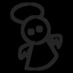 Niedliche Engel-Symbol