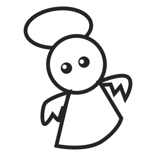 Cute angel icon Transparent PNG