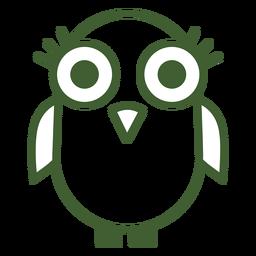 Icono de pájaro lindo