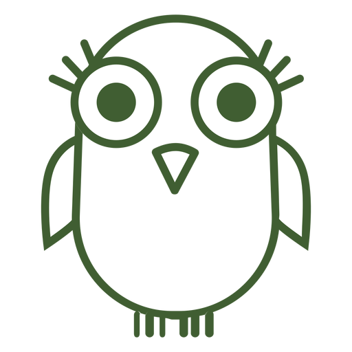 Cute bird icon Transparent PNG