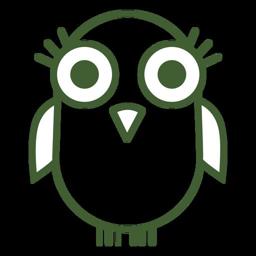 Icono de pájaro lindo Transparent PNG