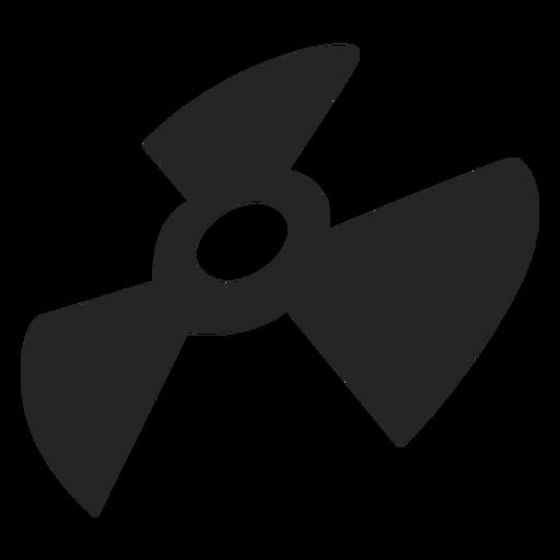 Blade silhouette graphics
