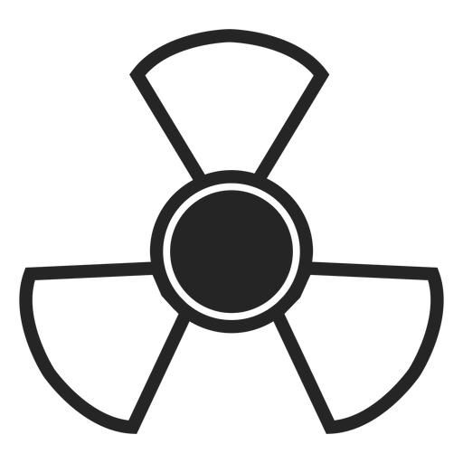 Abstract toxic icon Transparent PNG